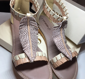 Feather sandal från Cream storlek 40