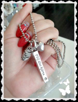 Hb166-I Halsband följ ditt hjärta