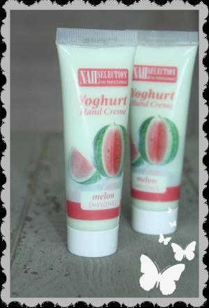 Yoghurt handkräm att ha i väskan Melon 50 ml