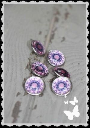 Mixxa lila mönster 1 st