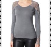 Carya pullover grå från cream storlek L
