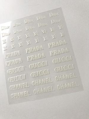 Brand stickers