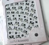 Stickers glada björnar och katter